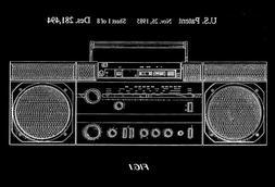 1985 - Portable Cassette Player, Tuner, Amplifier & Speakers