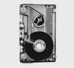 "3"" Cassette Tape Old School Record Player Mashup Needle Vi"