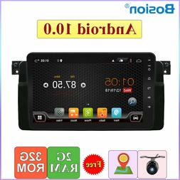 9'' Car Stereo GPS Player Android 10.0 Navigation For BMW E4