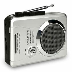 AM/FM Portable Pocket Radio and Voice Audio Cassette Recorde