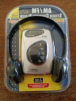 Lenoxx Sound AM/FM Stereo Cassette Player Model 1129 w/ Head