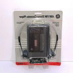 GE AM/FM Stereo Cassette Player | Model 3-5482S