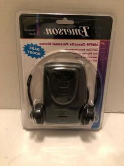 Emerson AM/FM Stereo Radio Cassette Player Model HS6046 New