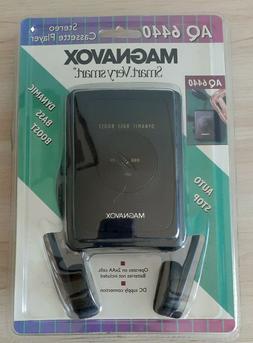 Magnavox AQ6440 Stereo Cassette Player Dynamic Bass Boost NE