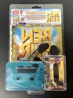 Ben-Hur Fun Pack Vintage Cassette Player with Cassette and R