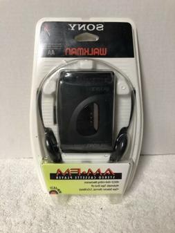 SONY WALKMAN Cassette AM FM Radio WM-FX21 -  New Old Stock-