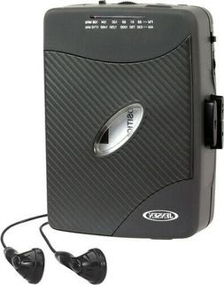 Cassette Player PORTABLE JENSEN Heavy Duty WALKMAN  COMPACT