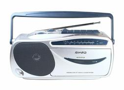 Craig Electronics CD6911 Portable AM/FM Radio Cassette Playe