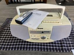 Sony CFD-V35 CD Radio Cassette-Corder AM/FM Radio Tape/CD Pl