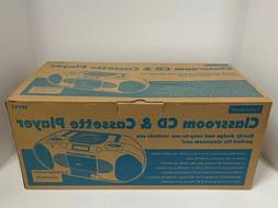 Lakeshore Classroom CD & Cassette Player Radio/Recorder EE49