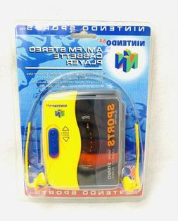 Nintendo 64 Collectible Walkman Sports All Weather Cassette