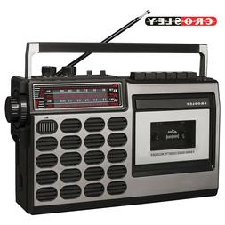 Crosley CT100A-SI Old School 80s Style Cassette Player and R
