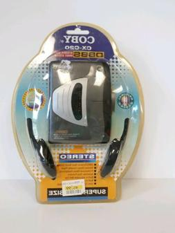 Coby CX-C21 Cassette Player with Headphones In Original Pack