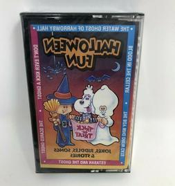 Halloween Fun Cassette Tape Jokes, Riddles Songs 1992 Purple