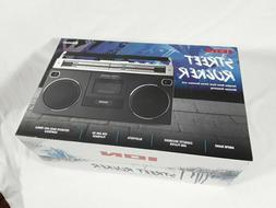 ION Audio Street Rocker Portable Retro-Style Stereo Boombox