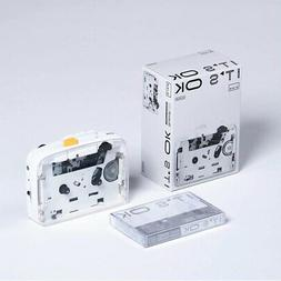 NINM Lab IT'S OK Bluetooth 5.0  Cassette Tape Player Walkman