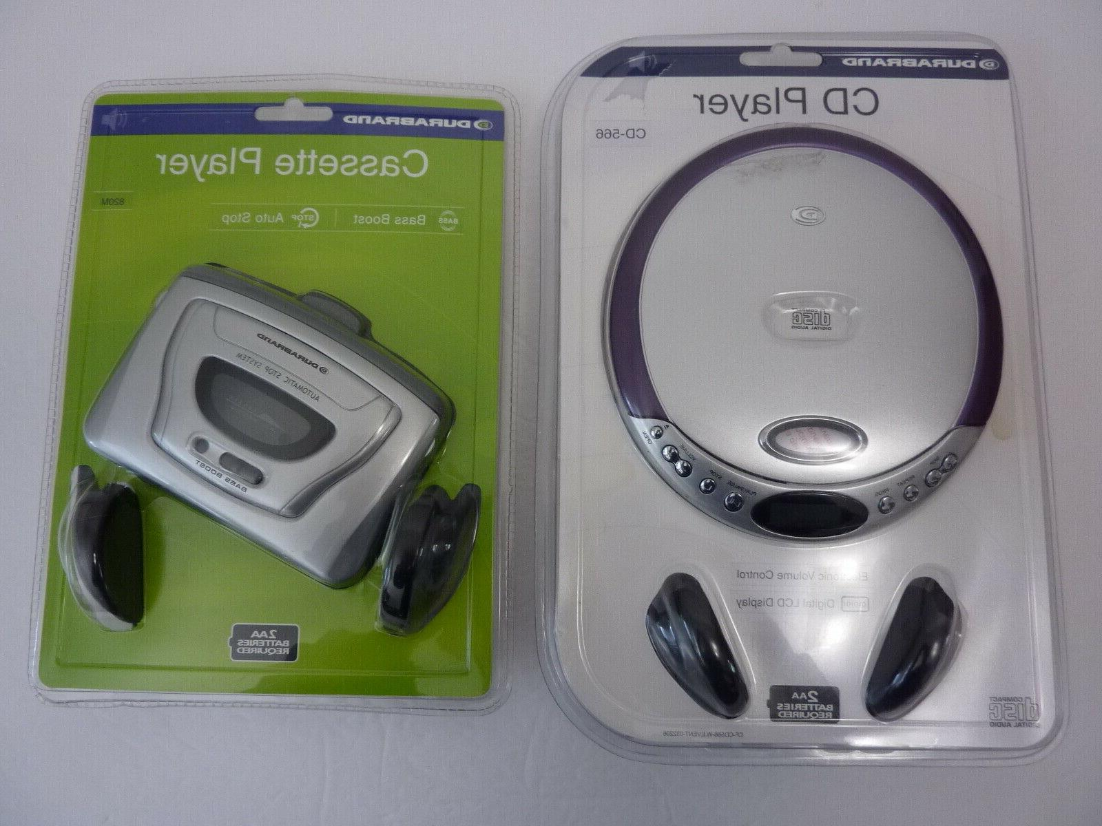 2 new portable cd player cd 566