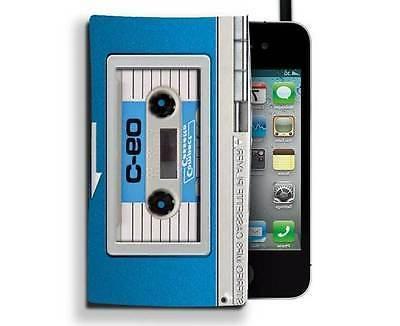 audio retro mp3 phone case cassette player