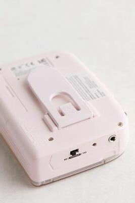 NINM IT'S OK Bluetooth 5.0 Cassette Tape Player Recorder PINK