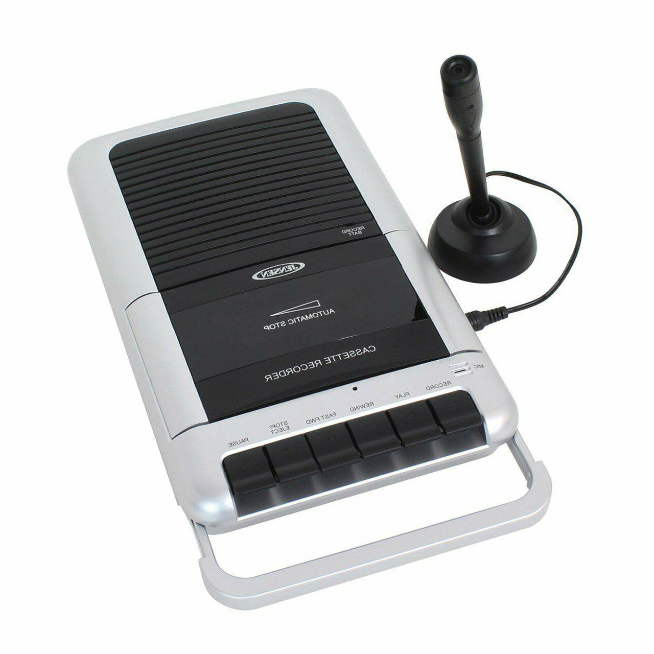 mcr 100 cassette player recorder