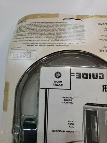 Nos G.E. Ge Stereo Cassette Player
