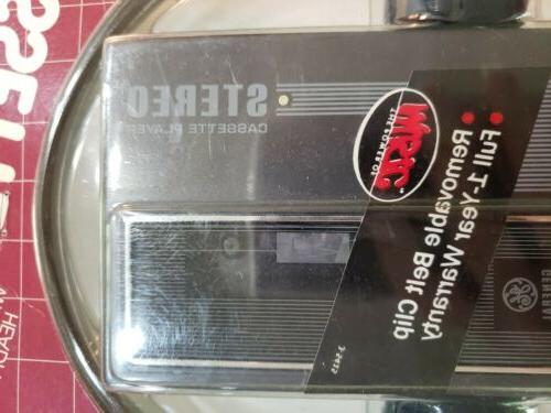 Nos G.E. Stereo Cassette Player