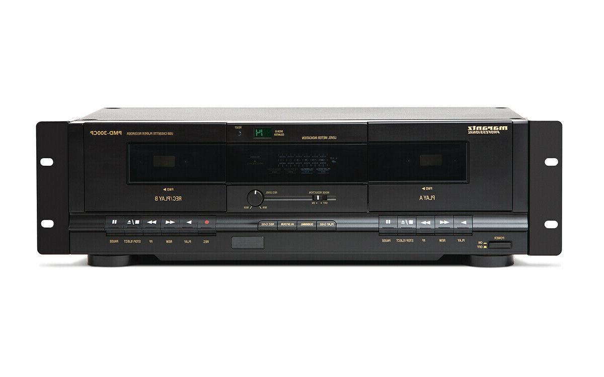 Marantz PMD-300CP Dual Recorder/Player