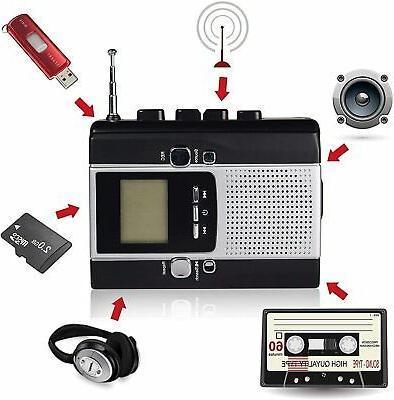 Portable Cassette Recorder, Mp3