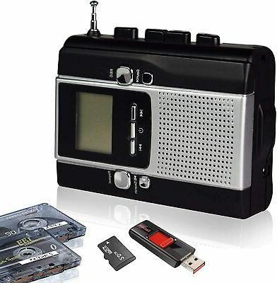 Portable Radio Cassette Recorder, Tape Mp3
