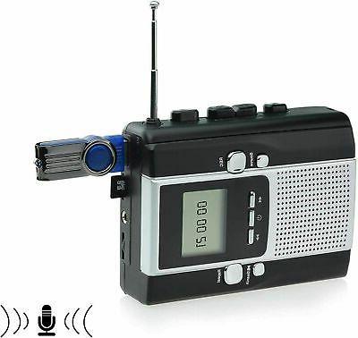 portable radio cassette player recorder cassette tape