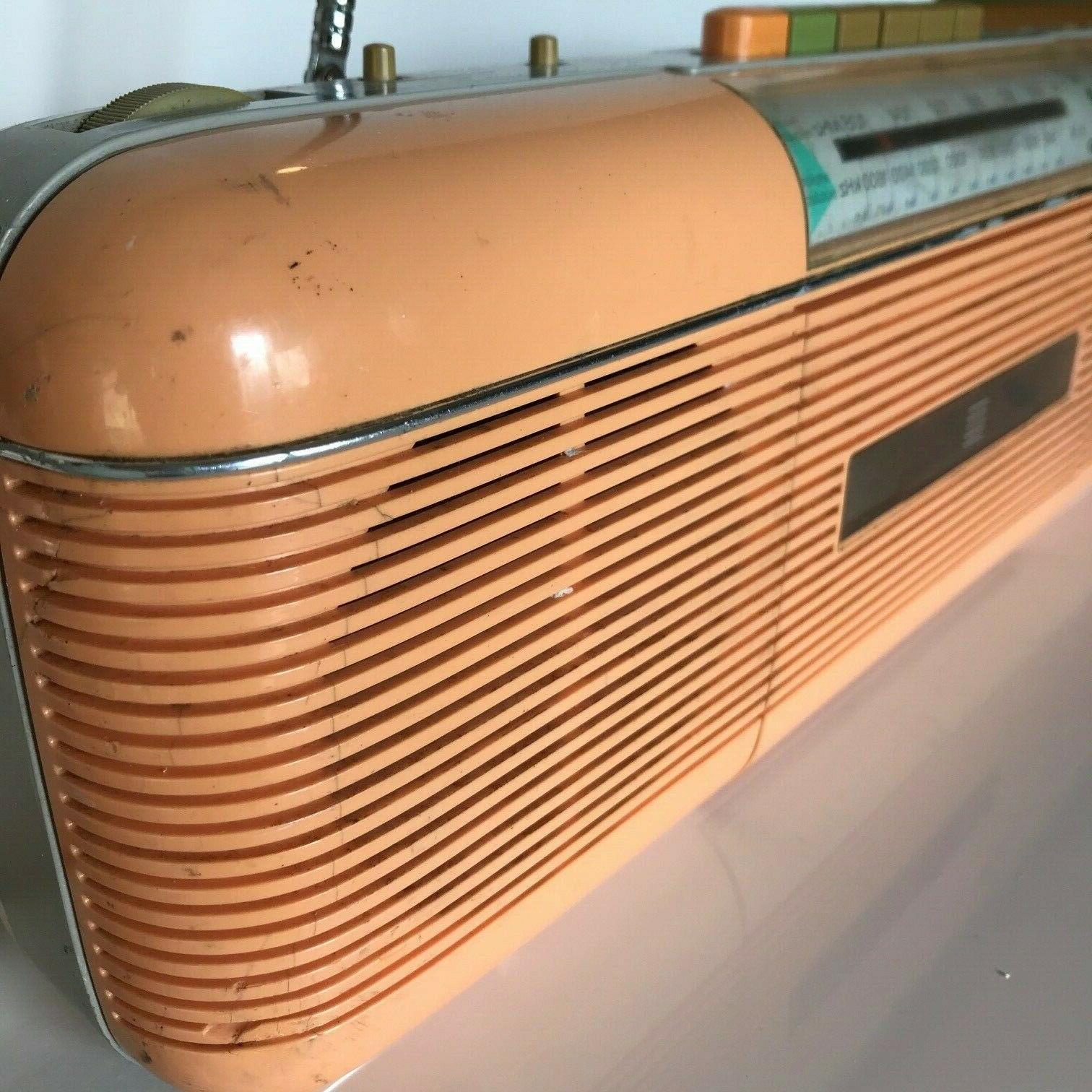 Sharp QT-50 P Vintage Stereo Radio Cassette Stranger / Peach
