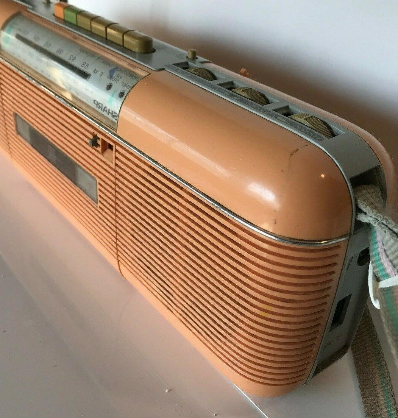 Sharp QT-50 P Stereo Radio Stranger / Peach