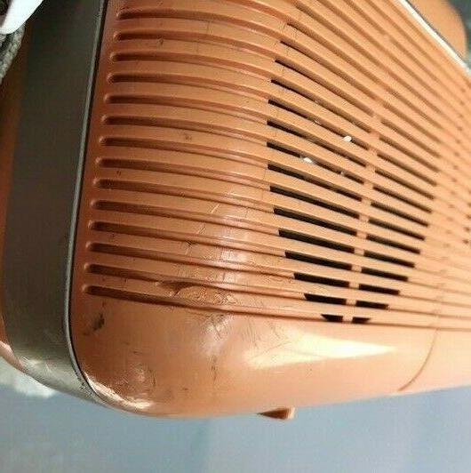 Sharp P Vintage Stereo Cassette Player Stranger Peach
