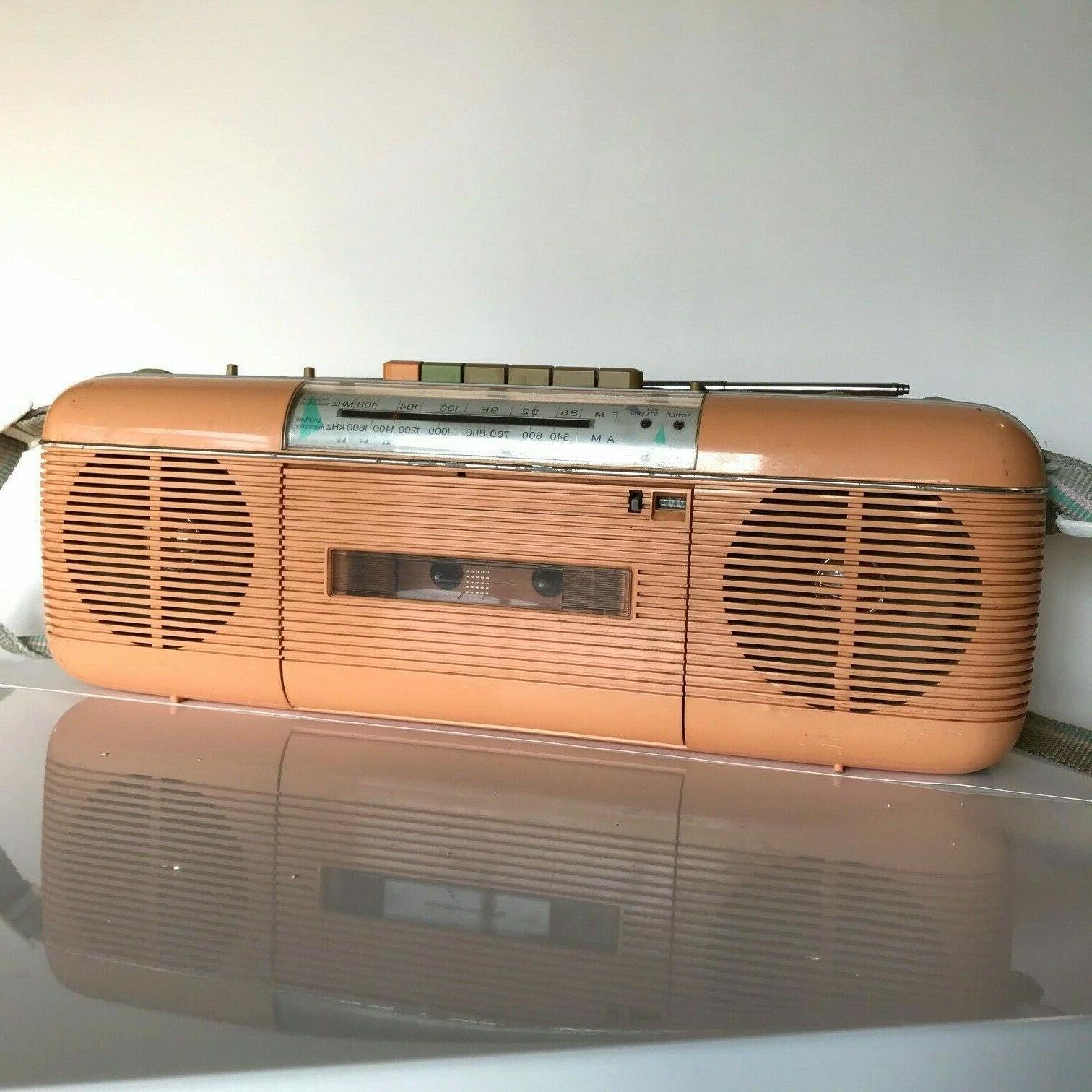 qt 50 p vintage stereo radio cassette