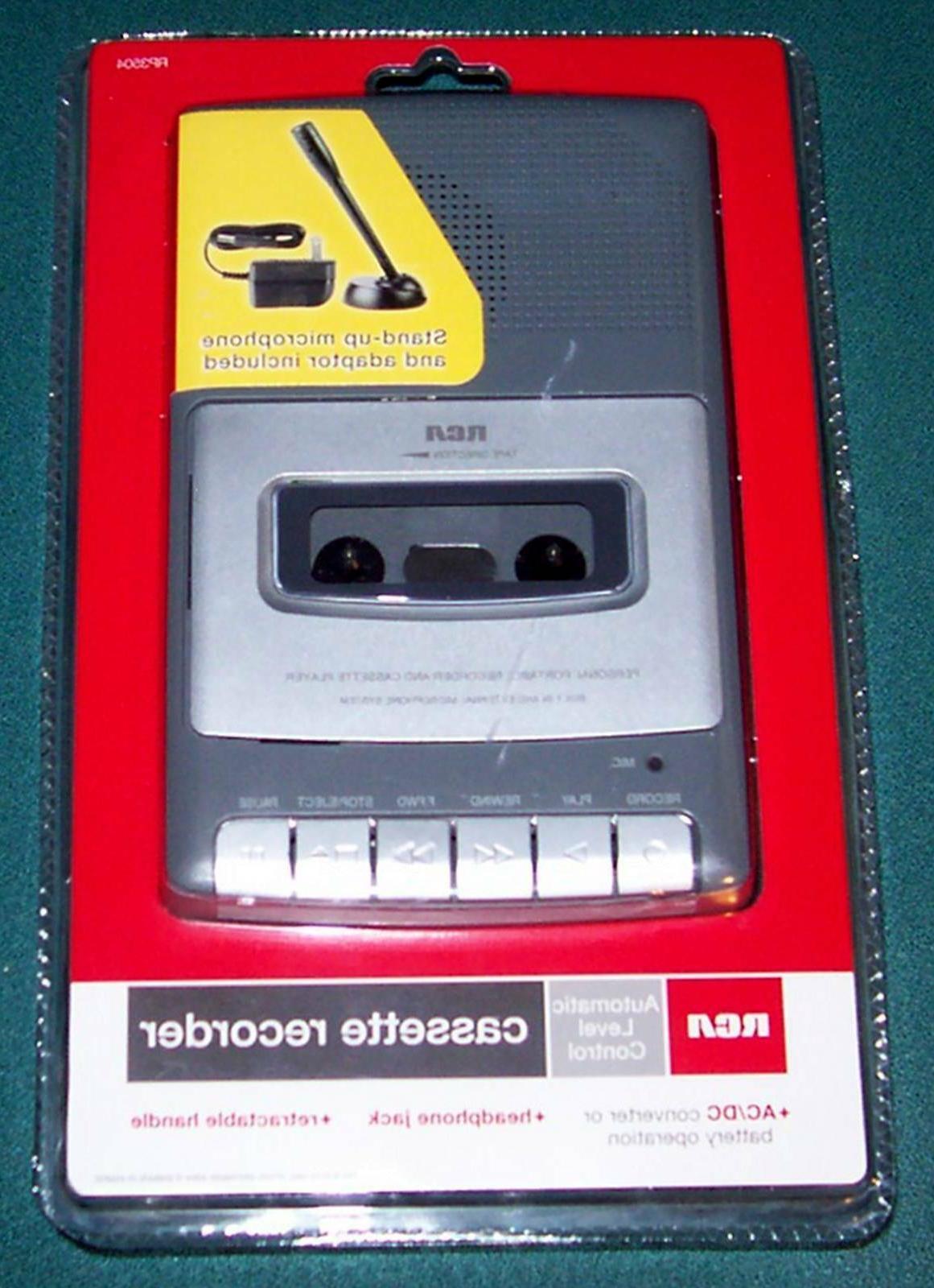 rp3504 cassette voice recorder