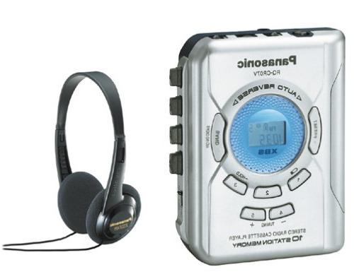 rq cr07v portable cassette stereo