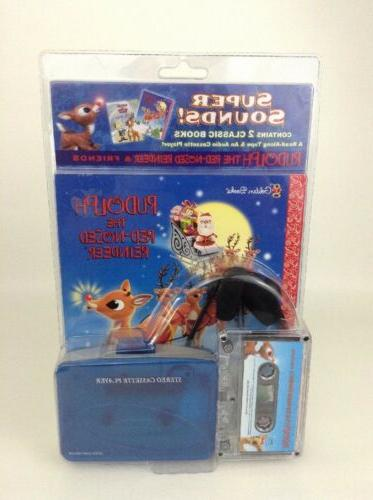 SEALED Reindeer GoodTimes Cassette Player 2 Classic Tape