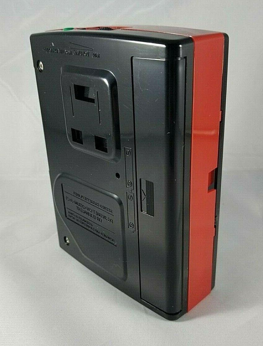 Vintage Crown Japan Cassette Player SZ-31 Red New