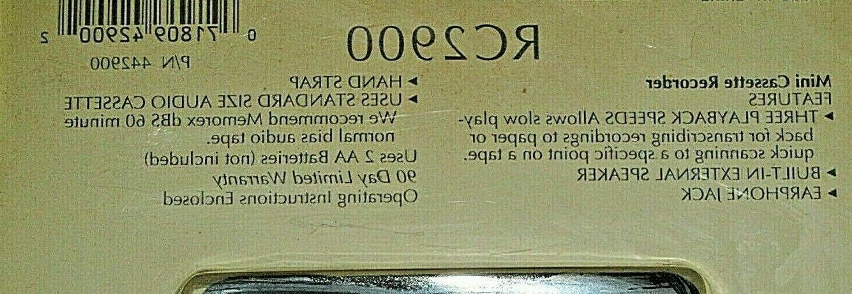 Vintage RC2900 CASSETTE RECORDER PLAYER w/
