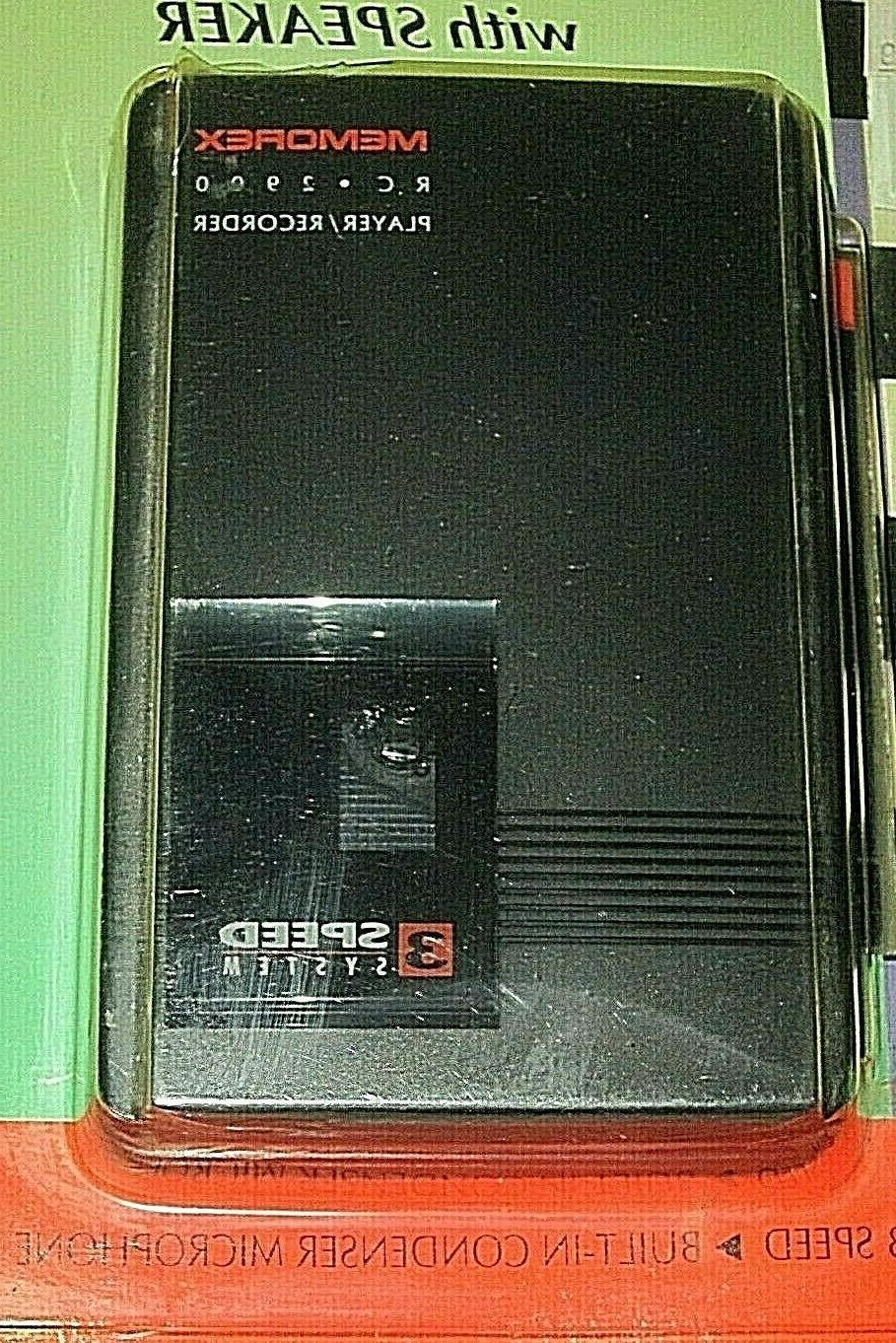 Vintage 1980'S MEMOREX RC2900 MINI PLAYER