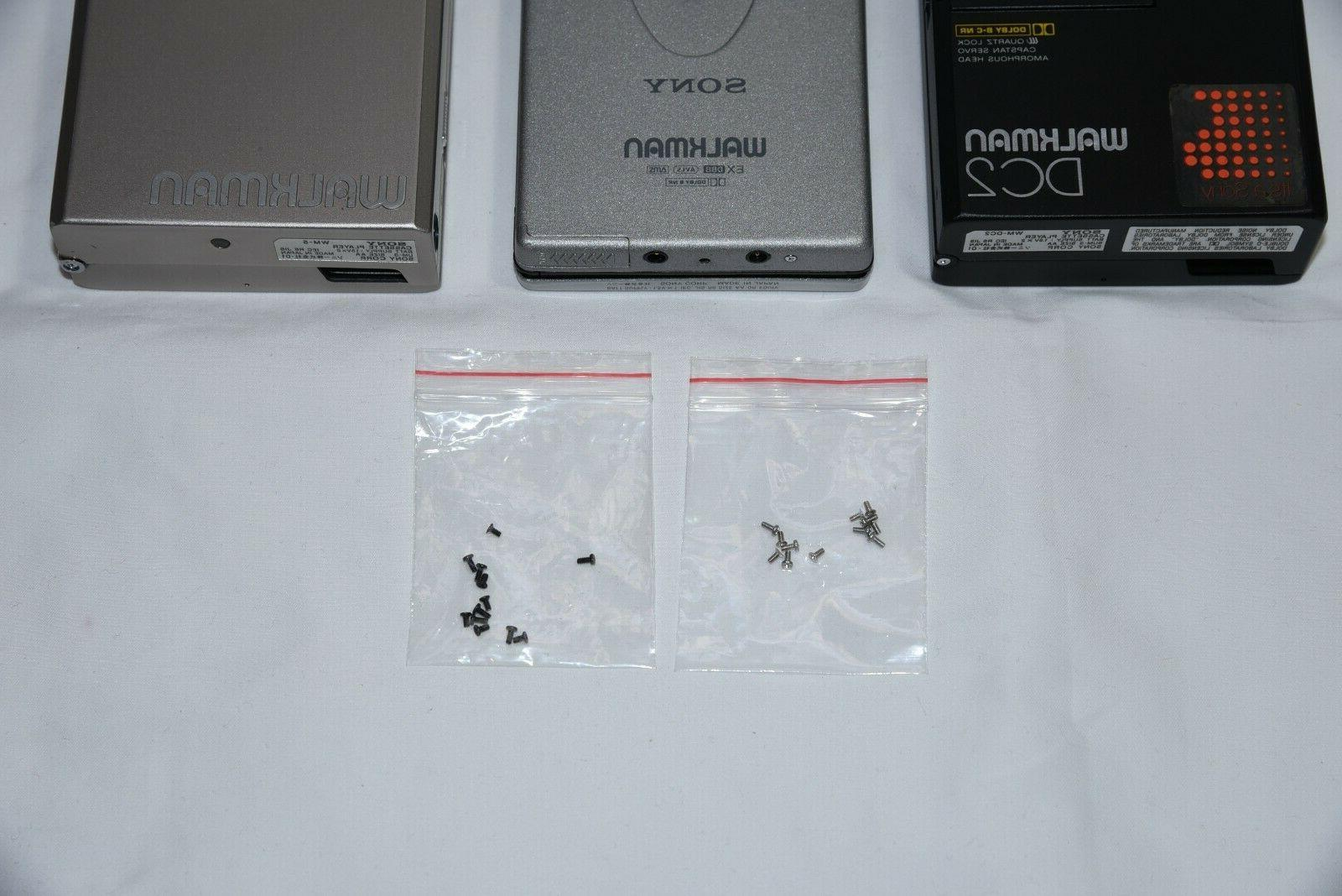 Walkman screws of 24 for players and