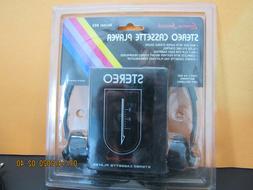 Lenoxx Sound Stereo Cassette Player New W/headphones