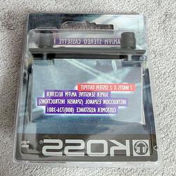 NEW & Still Sealed - Koss In-Dash Car AM/FM/Cassette Player