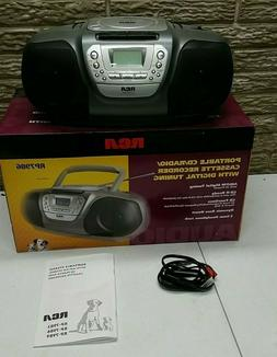 NEW IN THE BOX RCA RP-7986 Portable CD/Cassette/Radio Player
