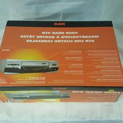 NEW SEALED RCA VR546 4 Head Hi-Fi Stereo VCR VHS Player Vide