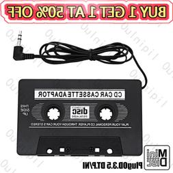 Newest Car Cassette Tape Adapter Cassette Mp3 Player Convert