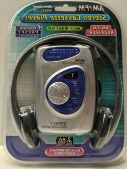 NOS Sealed Lenoxx Sound AM/FM Stereo Cassette Player With He
