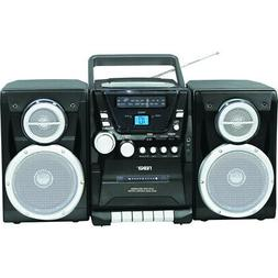 Naxa Npb-426 Portable Cd Player Am/Fm Stereo Radio Cassette
