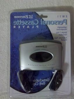 Emerson Personal Cassette Player Ew71
