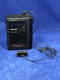 Aiwa Portable Auto Reverse Cassette Player/Recorder Speaker